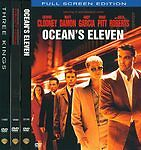 Ocean's Eleven, The Perfect Storm, Tree Kings (DVD, 2008, 3-Disc Set). Free s/h