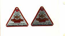 New listing Nice Set Of 2 Australia Joy Coal Mining Stickers # 1250