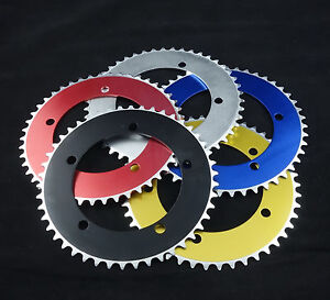 J&L Single Speed,Fixed Gear,Fixie-46T-130mm ChainRing-fit Sram,Sugino,Shimano