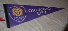 "ORLANDO LIONS SC MLS ROLL AND GO FELT WALL 12' X 30""   PENNANT NEW"