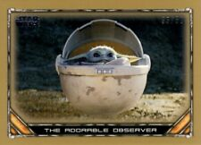 Star Wars The Mandalorian Bronze Parallel /50 Card, #21 The Child, Topps