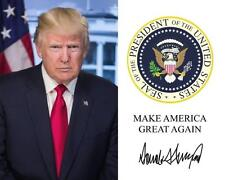 DONALD TRUMP Make American Great Again 8 x 10 Photo Print Poster USA President