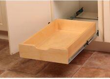 Pull-Out Cabinet Organizer Soft Close Wood Drawer Box Sliding Kitchen Storage