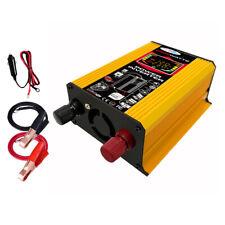 (Inversor de corriente para coche 6000W 12V a 220V 50HZ DC a AC Protección