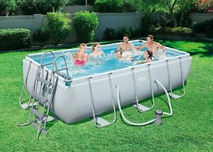 13,3 FT-17 in set BESTWAY 56441 Swimming Pool  (404 x 201x 100 cm) Rectangular