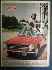 INNOCENTI 950 Spider & Pin-up 1961
