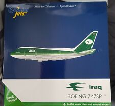 Iraq (Government) Boeing 747SP-70 YI-ALM 1/400 scale diecast Gemini Jets