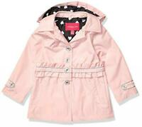 London Fog Girls Light Pink Trench Jacket Size 2T 3T 4T 4 5/6 6X