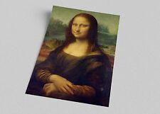 ACEO Leonardo da Vinci Mona Lisa Canvas Giclee Print