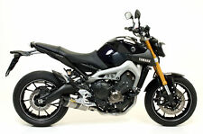 Terminale Thunder alluminio Dark con fondello carby Arrow Yamaha MT-09 2013>2017