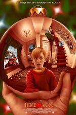 Adam Rabalais HOME ALONE Poster Movie Print Mondo MC Escher Sphere DKNG RARE /95