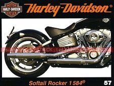 HARLEY DAVIDSON FXCWC 1584 Softail Rocker Gerry CHILLICO Histoire Softail MOTO