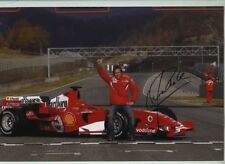 Luca Badoer Ferrari F1 Test Driver Portrait Signed Photograph 6