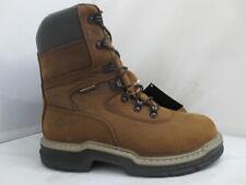 Men's Wolverine Brown Marauder Waterproof Insulated Work Boot Size 11 #2164
