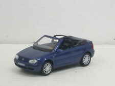 VW Golf GTI Cabrio in dunkelblaumetallic, ohne OVP, Hongwell/Cararama, 1:43