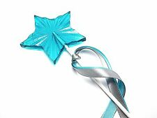 12 Radiant Star Wand Lollipops with Satin Ribbon - Princess or Cinderella Party