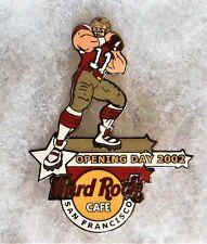HARD ROCK CAFE SAN FRANCISCO 49ERS FOOTBALL QUARTERBACK PIN # 17039