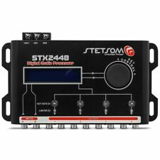 Stetsom STX2448 4-Channel Digital Automotive Signal Processor FREE SHIPPING