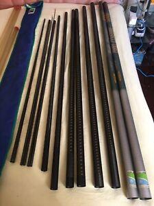 Preston Innovations 5000 Lerc 14 M Pole 8 Secs + 2 Top Kits+ Cupping Section.
