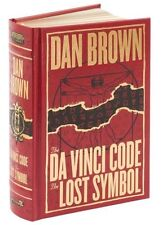*New Sealed Leatherbound* THE DA VINCI CODE / THE LOST SYMBOL by Dan Brown
