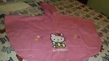 Hello Kitty-para Niños con Capucha Kagoul/Impermeable/poncho edad 6