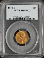 1948-S Lincoln Wheat Cent PCGS MS-66RD -106487