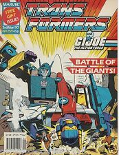 Marvel UK Comics 1990 The TRANSFORMERS #259 Very Good Condition Bagged & Boarded