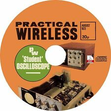 Practical Wireless Magazine (10 Issues) 1955-1976 on CD