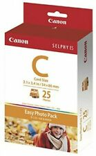 Official CANON Easy Photo Pack / E-C25 card size 25sheets for SELPHY ES 1