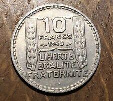 TRES BELLE PIECE DE 10 FRANCS TURIN 1948 B (170)