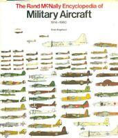 Rand McNally Encyclopedia Of Military Aircraft 1914-1980 Hardcover Crescent U1