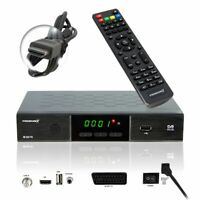 PremiumX FullHD SAT Receiver HDMI SCART 2x USB DVB-S2 TV Satellitenreceiver HDTV