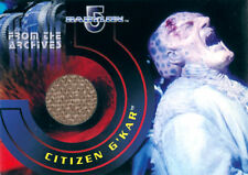 The Complete Babylon 5 Costume Card C2 Citizen G'Kar (burlap variant)