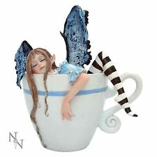 I Need Coffee Fairy In A Cup 9cm High Mug Amy Brown Faerie Nemesis Now