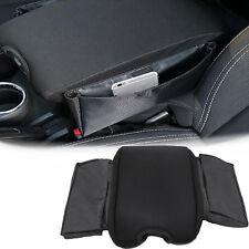 Interior Center Console Armrest Cover Seat Pocket Organizer For Jeep Wrangler JK
