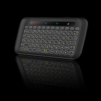 Mini Tilted Backlit Wireless Keyboard Mouse Air Touchpad IR Remote Control