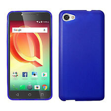 For Alcatel Pulsemix A50 Frosted TPU CANDY Gel Flexi Skin Case Cover Accessory