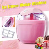 Ice Cream Maker Frozen DIY Dessert  Yogurt Electric Machine Homemade 500ml