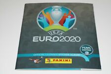 PANINI EURO 2020 SWISS PEARL EDITION empty ALBUM + free Impossible sticker