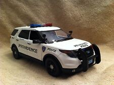 1/18 SCALE PROVIDENCE RI POLICE SUV UT  DIECAST WITH WORKING LIGHTS AND SIREN