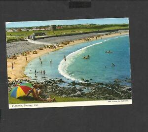 John Hinde Colour Postcard L'Ancresse Channel Islands Guernsey posted 1973