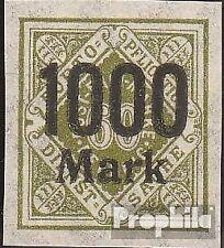 Württemberg D171U Imperforated met gomstrook 1923 Numbers in Diamond