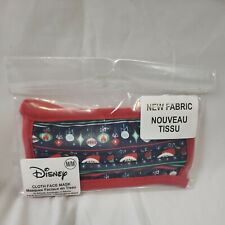 NWT* Disney Mickey Mouse Face Mask Christmas Theme