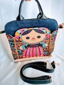Lele Maria bag bolso de Lele Otomi mexican bag organizer bag adjustable strap