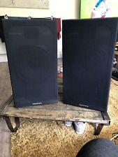 vintage hi fi speakers Memorex 205 Pair BIG Speakers
