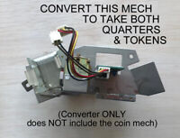 $.25 CONVERTER FOR BELLCO PACHISLO SLOT MACHINES - ACCEPTS QUARTERS & TOKENS