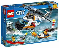 Lego GB City Côte Garde - Résistant Secours Hélicoptère
