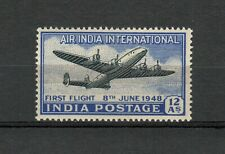 s34271 INDIA MXLH* 1948 1st flight to Britain