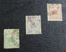nystamps China Chinkiang Stamp # 2//5 Used $22 Cancels 镇江