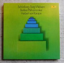 Schönberg, Berg, Webern : Berliner Philharmoniker, Herbert von Karajan- 4LP